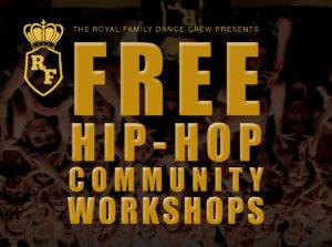 Free Hip-Hop Community Workshops