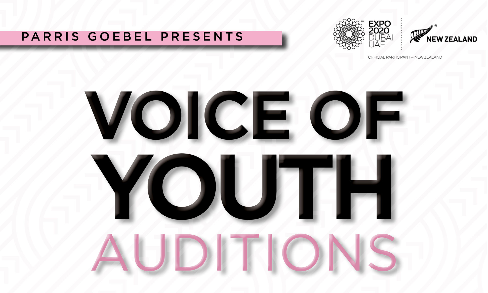 Parris Goebel Presents Voice of Youth Auditions